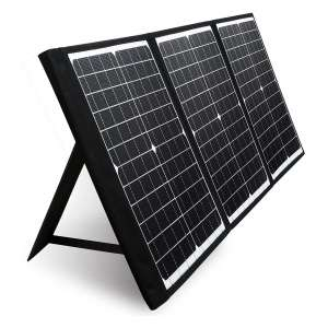 PAXCESS 60W Portable Solar Panel with USB QC and Type C Port