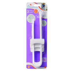 DreamBaby 3 Pack Sliding Cabinet Locks