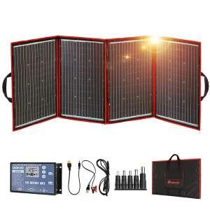 DOKIO 220W Monocrystalline Foldable Solar Panel