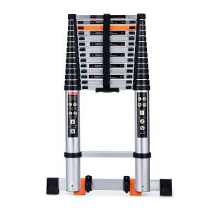 Energy Bear Telescoping Ladder- 330lbs. Loading Capacity