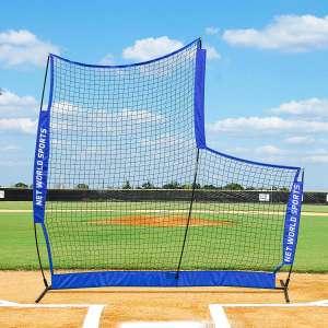Fortress Portable Pop-Up Lightweight L-Screen for Baseball