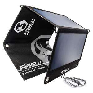 Foxelli Tripple USB Solar Charger 21W 3 USB