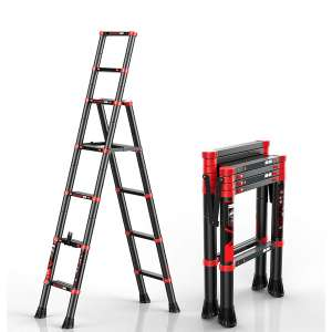 NSdirect Telescopic Ladder with a Safety-Lock