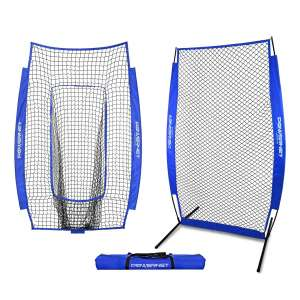 PowerNet I-Screen for Baseball with Frame and Infielder