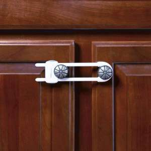 Toddleroo by North States Sliding Cabinet Locks 3 Pack