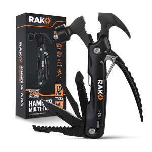 RAK Hammer Multi-Tool 12 In 1 Camping Gear Survival Tool