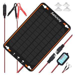 Aeiusny 5W Solar Panel Power Kit
