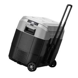 Foho Portable Car Freezer 52 Quart with Wheels