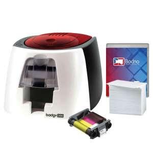 Badgy200 Color Plastic ID Card Printer