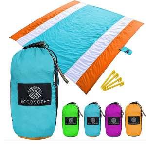 ECCOSOPHY Sand Free Beach Blanket