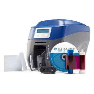 ID Maker Card Edge 2-Sided Printer Machine
