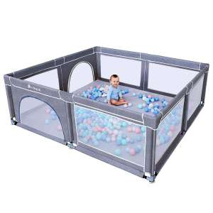 TODALE Sturdy Babies Playpen with Anti-Slip Suckers
