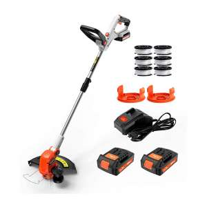 PAXCESS Cordless String Trimmer Lawn Edger