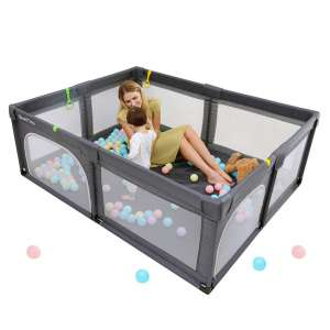 QualiTime Sturdy Safety Playpen