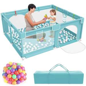 SASRL Infant Safety Gates with Breathable Mesh