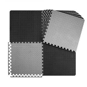 Innhom Puzzle 12:24:48 Tiles Gym Flooring Exercise Mats